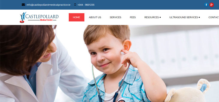 New Website for Castlepollard Medical Practice
